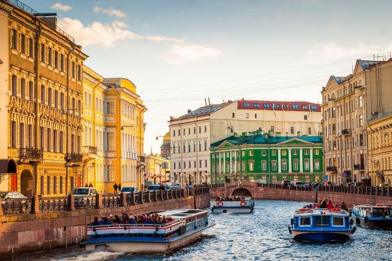 Russie - Circuit de Moscou à St Petersbourg Au Complet
