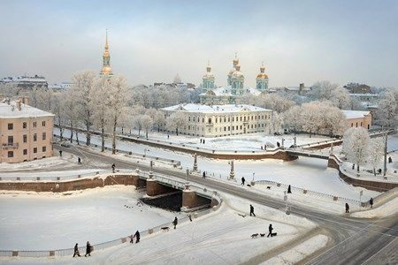 Circuit Moscou St Petersbourg Au Complet 4*