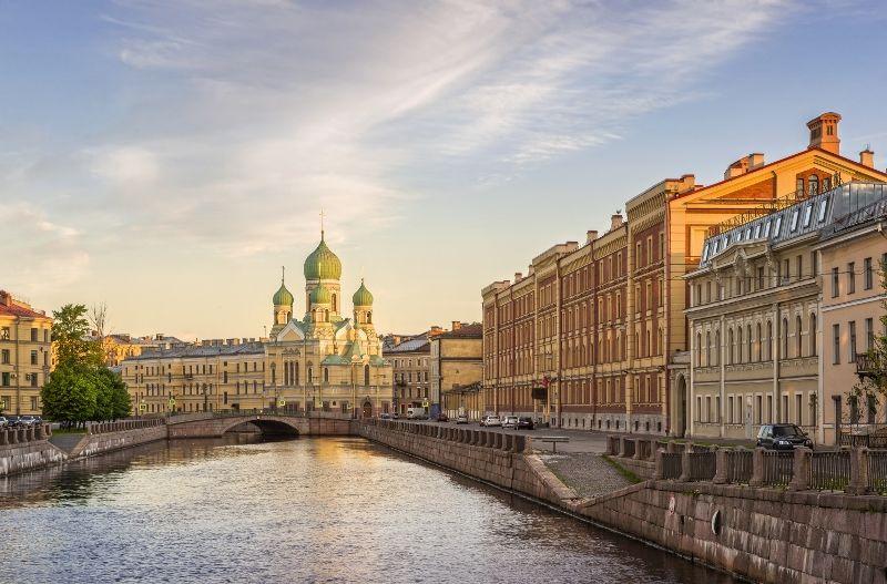 Croisière Fluviale de Moscou à St Petersbourg