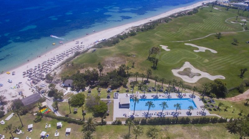 Tunisie - Port el Kantaoui - Hôtel Seabel Alhambra Beach Golf & Spa 4*