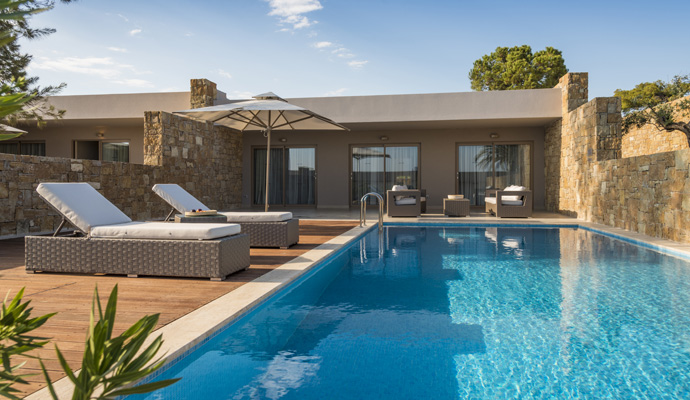 Ikos olivia 5 luxe for Piscine privee rennes