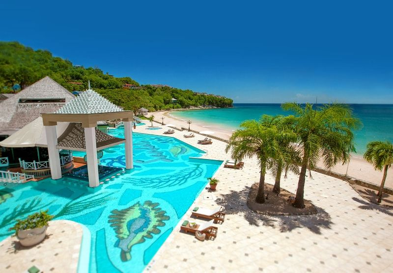 Hôtel sandals regency la toc 5*