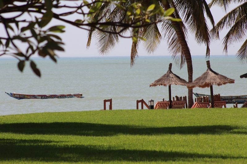 Jardin Saly Vue Mer 2