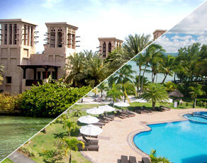 Circuit De Dubai à Abu Dhabi & Club Coralia Jalsa Beach Hotel & Spa 4*