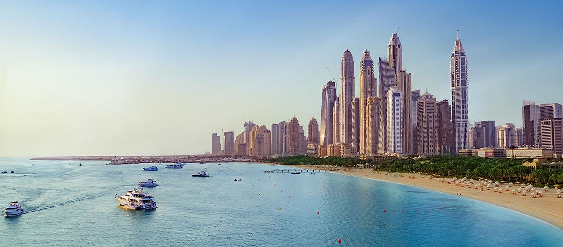 De Dubai à Abu Dhabi - Extension Maurice Peninsula Bay  4*Nl