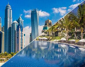 De Dubai à Abu Dhabi & Extension Kappa Club Maritim Crystals Beach 4*