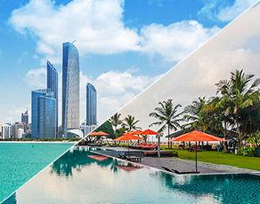 De Dubai à Abu Dhabi & Extension Kappa Club Sri Lanka 5*