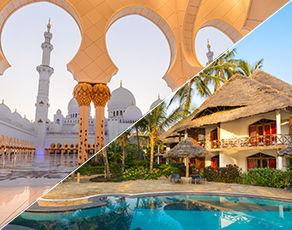 De Dubai à Abu Dhabi & Extension Kappa Club Waridi Beach Resort & Spa 4*