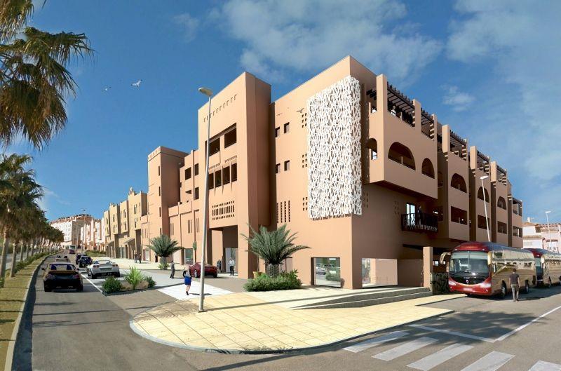 hotel tarifa lances 4 avec location de voiture tarifa andalousie espagne avec voyages. Black Bedroom Furniture Sets. Home Design Ideas