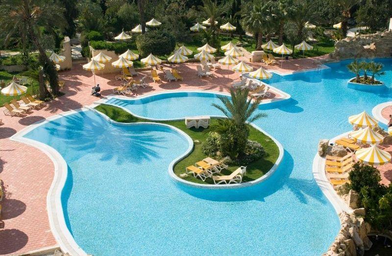 Tunisie - Hammamet - Hôtel Chich Khan 4*