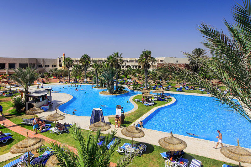Tunisie - Djerba - Hôtel Welcome Meridiana Beach 4*