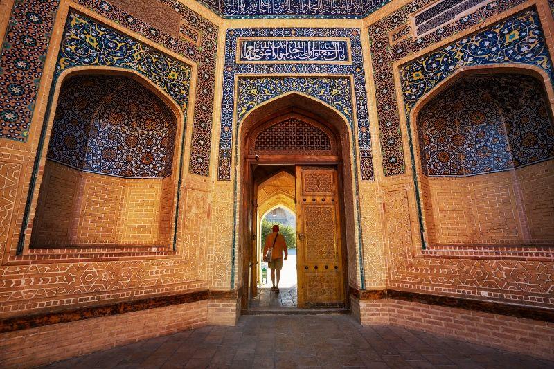 Sur les Routes de lOuzbekistan