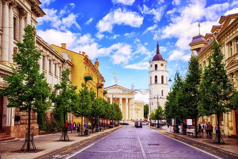 Avenue Gediminas - Vilnius