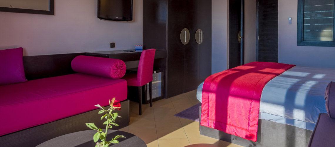 Hotel aqua mirage 4 marrakech maroc avec voyages - Prix chambre hotel mamounia marrakech ...