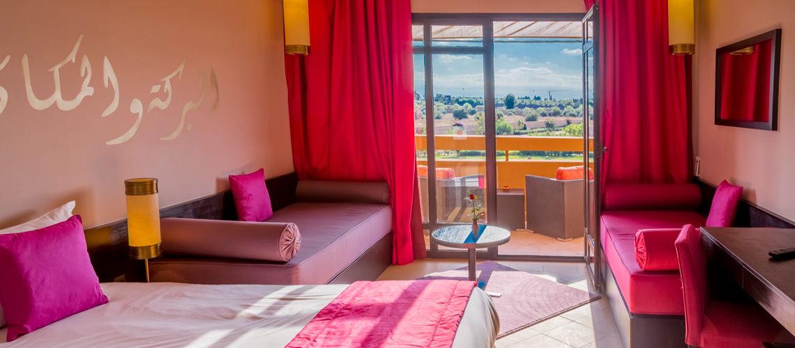 Chambre villes imperiales extension club coralia marrakech