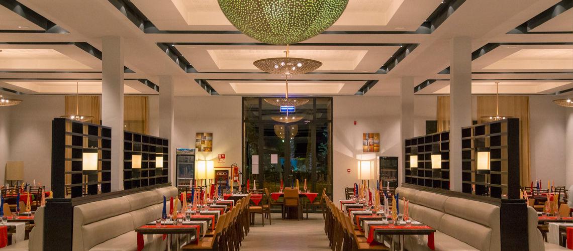 Restaurant villes imperiales extension club coralia marrakech