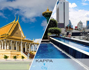 Circuit les merveilles du cambodge 3*/4* et extension kappa city pullman bangkok hôtel g 5*