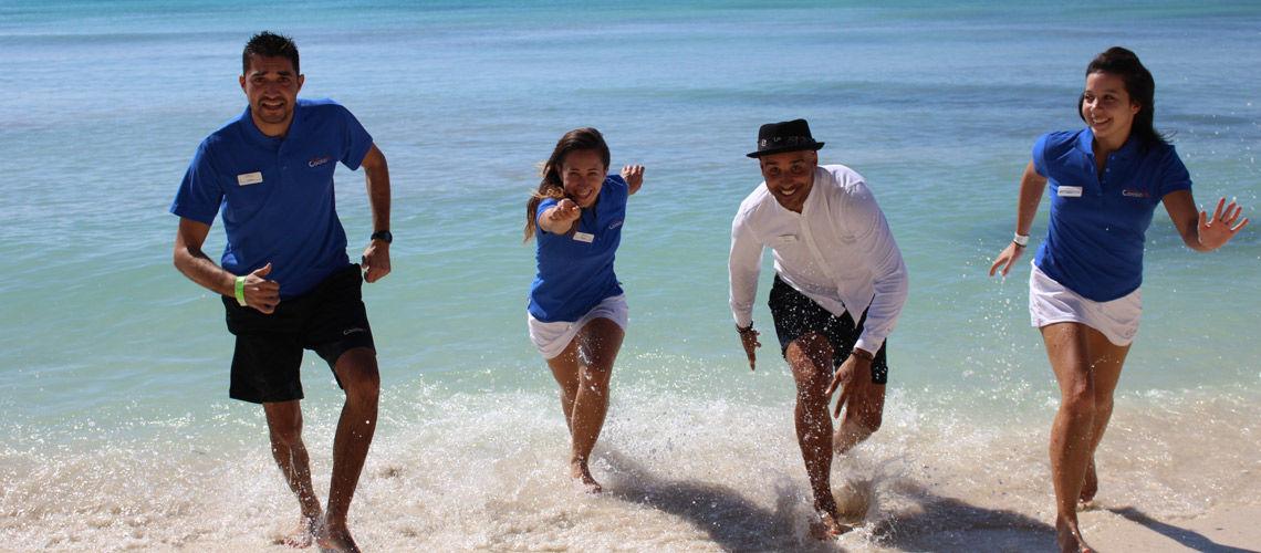 equipe club coralia amilia mare beach resort