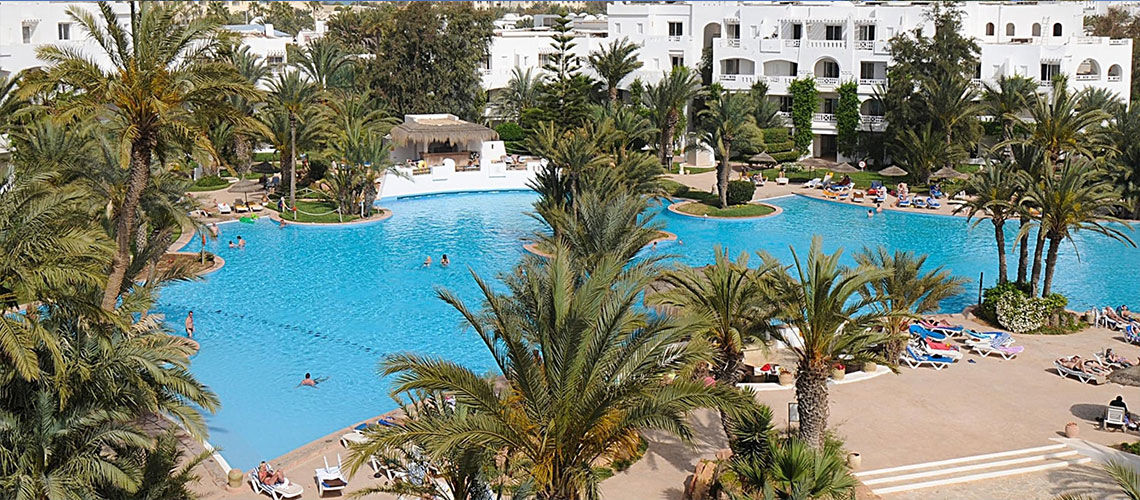 piscine club coralia djerba resort