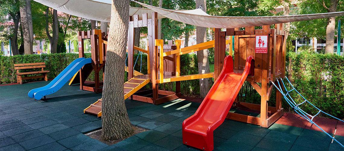 aire de jeux club coralia zorinca residence