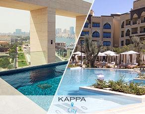 Combine Dubaï & Abu Dhabi: Kappa City Zabeel House Al Seef 4*/ Kappa Club Rotana Saadiyat 5*