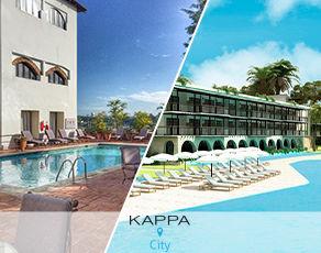 Combiné Kappa City Santo Domingo Nicolas de Ovando 5* & Kappa Club Ocean El Faro 5*