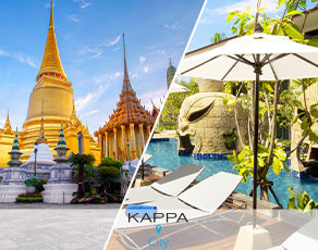 Combiné Kappa City Bangkok & Kappa Club Thaï Beach Resort 5*