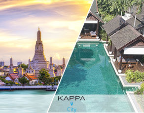 Combiné Kappa City Bangkok & Kappa Club Koh Samui 5*